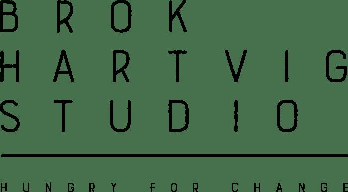 Brok Hartvig Studio logo i Styrehuset Fredericia